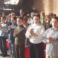 Przyjęcie nowych ministrantów 26.11.2006