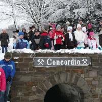 Dzieci przygotowujące się do I Komunii na spotkaniu w Concordii 02-03.02.2008
