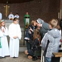 Nabożeństwo różańcowe i msza Święta dla dzieci 25.10.2009
