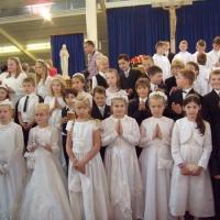 Pielgrzymka dzieci pierwszokomunijnych do Banneux 30.05.2009