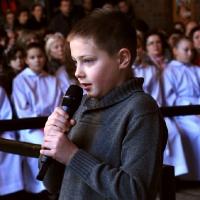 Jaseła i msza święta dla dzieci 10.01.2016