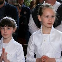 Rocznica pierwszej komunii świętej 15.05.2016