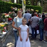 Pielgrzymka dzieci pierwszokomunijnych do Banneux 26.05.2018